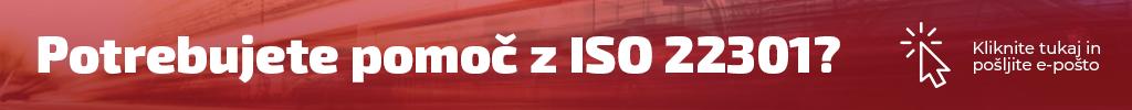 Potrebujete pomoč z ISO 22301?