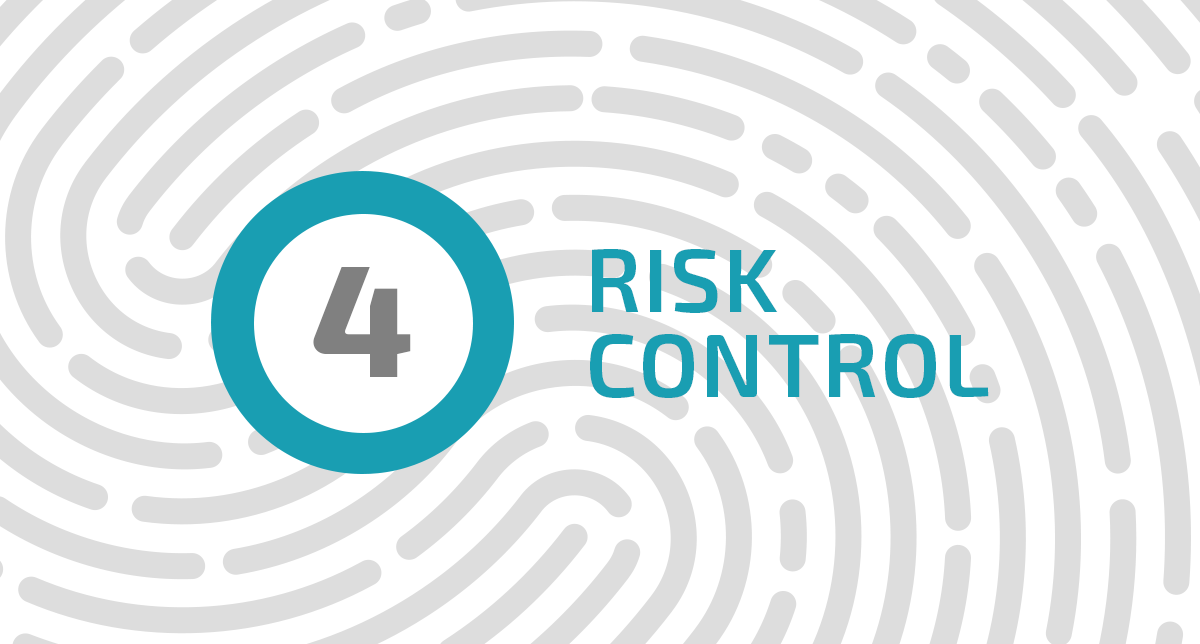 What is the effective risk control?